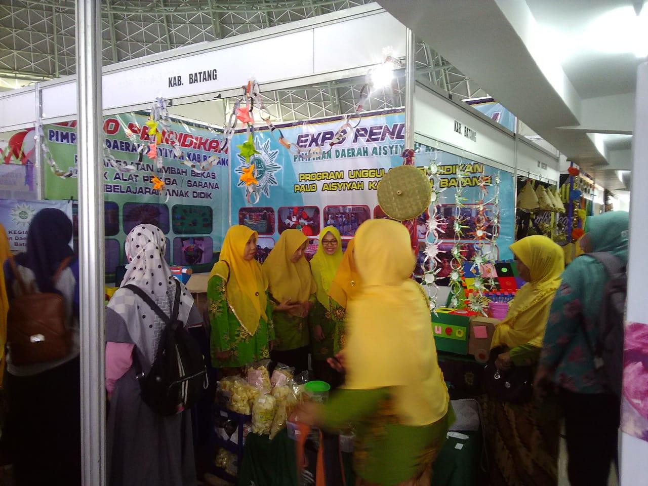 Pada tanggal 13 Oktober 2019 PDA Kab. Batang mengikuti kegiatan Ekspo pendidikan dan Lomba dalam rangka memperingati Milad 1 Abad TK Aisyiyah dan 102 Tahun 'Aisyiyah di UNIMUS Semarang