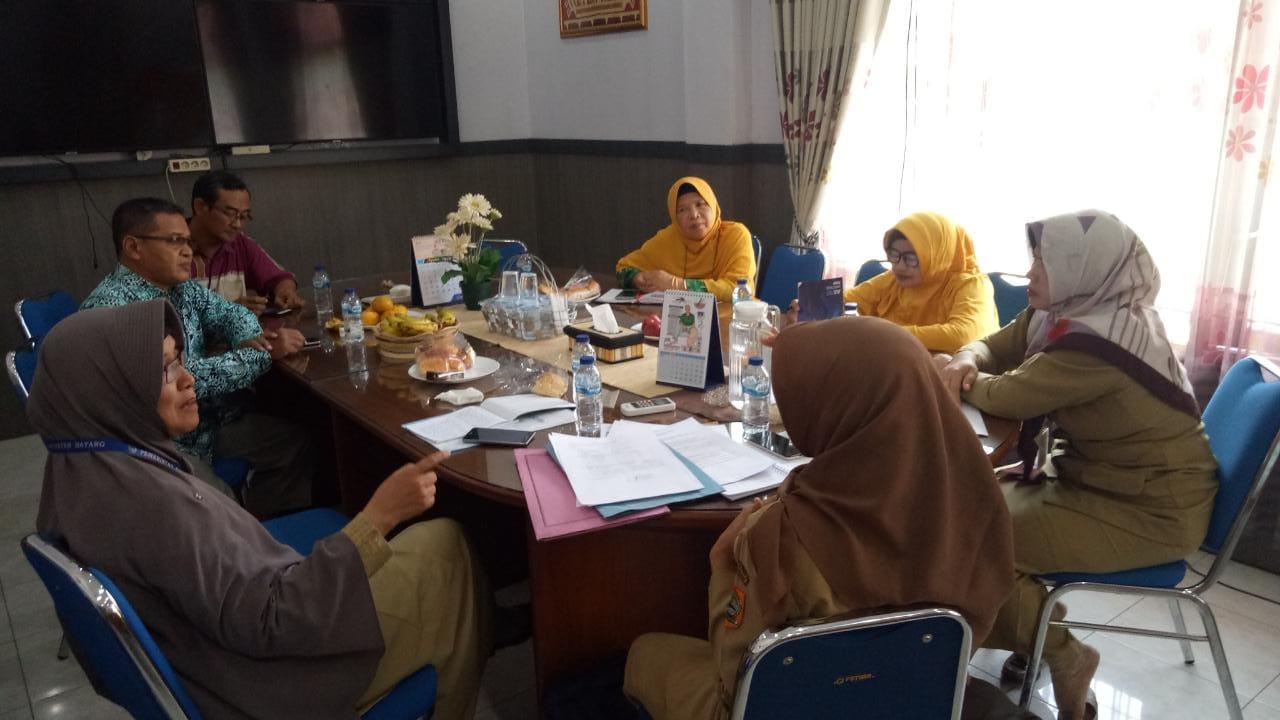 PDA Kab. Batang bersama dinas kesehatan Kab. Batang  mengikuti dintek kesehatan yang diadakan oleh provinsi Jawa Tengah